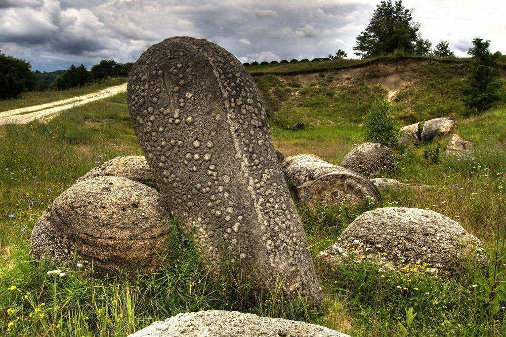 Pedras que crescem na Romênia