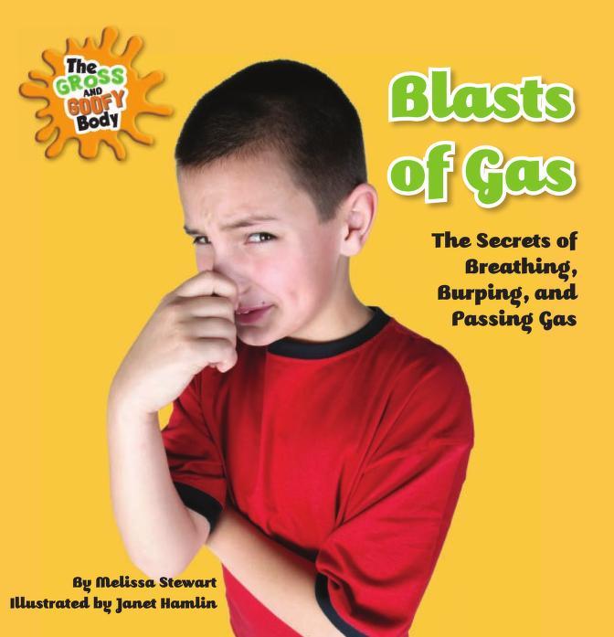 Blasts of gas by Melissa Stewart