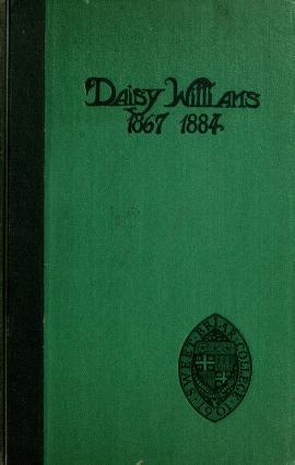 Cover of: Daisy Williams   Daisy Williams