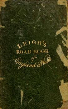 Cover of: Leigh's new pocket road-book of England and Wales |